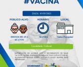 Vacinação para Idosos de 69 a 60 anos