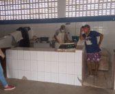 Fiscalização da Vigilância Sanitária nos barcos e vendas de pescado