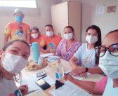 Reunião para organização do fluxo de trabalho da integração entre os Agentes Comunitários de Saúde e os Agentes de Endemia